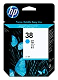 HP 38 Cyan Pigment Original Ink Cartridge (C9415A)