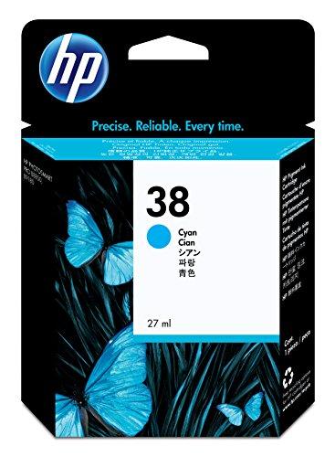 HP 38 Cartouche d'encre d'origine 1 x cyan