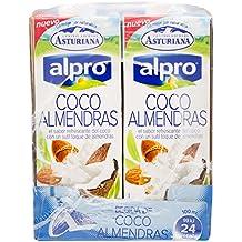 Alpro Central Lechera Asturiana Bebida de Coco Almendra - Paquete de 8 x 1000 ml - Total: 8000 ml