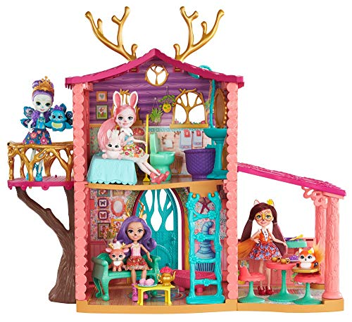 Enchantimals Coffret La Maison de Danessa Biche,...
