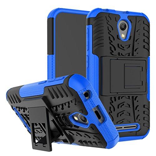 AIBULO® ZTE Blade L110 Hülle TPU Case Schutzhülle Silikon Crystal Case für ZTE Blade L110 (für ZTE Blade L110, blau)