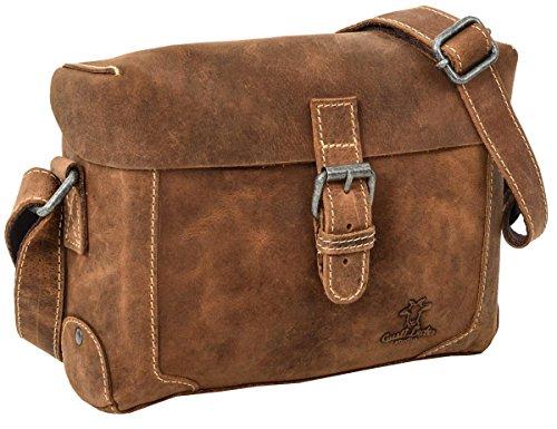 Gusti Cuir studio 'Hawk' sac à main sac de soirée sac pour sortir sac de loisir sac en bandoulière homme femme cuir de buffle marron clair 2H75-20-5wp