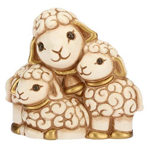 Thun® - gregge di pecore - statuine presepe classico - ceramica - i classici