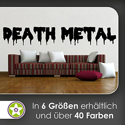 hauptsachebeklebt KIWISTAR Death Metal Hard Rock Wandtattoo in 6 Größen - Wandaufkleber Wall Sticker