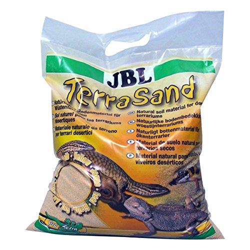 JBL TerraSand 71018 Bodengrund für Wüstenterrarien, Gelber sand, 7,5 kg