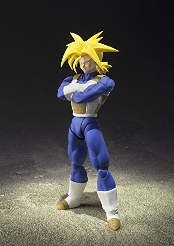 TAMASHII NATIONS Bandai Super Saiyan Trunks (Cell Saga Version) Dragon Ball Z Action Figure 2