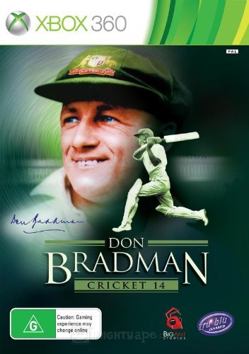 Don Bradman Cricket 14 [XBOX 360] by Don bradman cricket 14 (Like new)