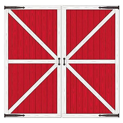 Beistle 52068 Printed Barn Door Props, 32.5