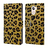 Head Case Designs Animal Print Grand As Gold Leather Book