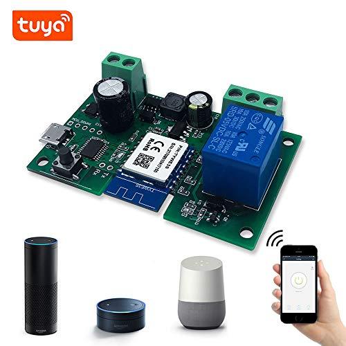 Eachen MóDulo Relé Inteligente InaláMbrico 1 Canal Para Smart Home Remote  Control Dc 5V/12V, Se Aplica Al Control De Acceso, Encender Pc, Puerta De