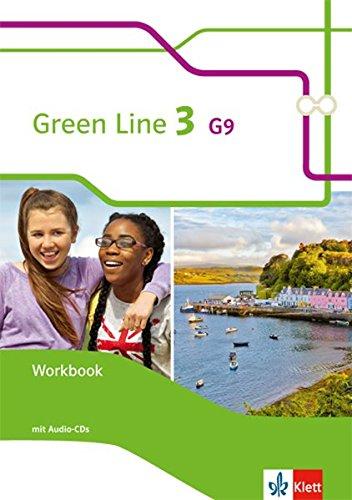 Preisvergleich Produktbild Green Line 3 G9: Workbook mit 2 Audio-CDs Klasse 7 (Green Line G9. Ausgabe ab 2015)