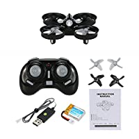 GoolRC Mini UFO Drone 2.4G 4CH 6 Axis Headless Mode Remote Control Nano Quadcopter RTF Mode 2 Quadcopter(Blue) from GoolRC