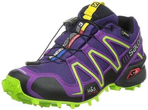 Salomon Speedcross 3, Women's Trail Running Shoes, Purple (Cosmic Purple/Passion Purple/Granny), 7 UK (40 2/3 EU)