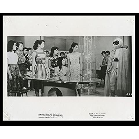 PRISONNIERE DES MARTIENS Photo de film N13 20x25 - 1959 - Kenji Sahara, Ishiro Honda