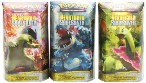 Pokemon 25521 - Heartgold und Soulsilver Themendeck, Deutsch (sortiert, 1 Deck)