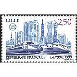 Francia 2957 (completa.edición.) 1993 TGV-curso (sellos para los coleccionistas)