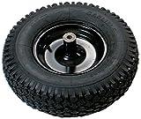 Union Werkzeuge Fuß Stahl-Schubkarre Ersatzreifen, 30 cm (8 Zoll), Schubkarre, Noppenreifen