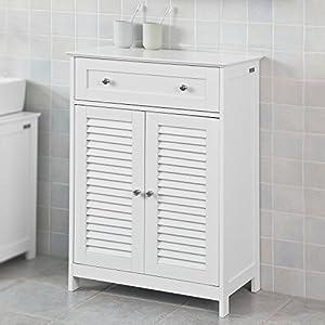 Badezimmermöbel Weiss Landhaus   Deine-Wohnideen.de