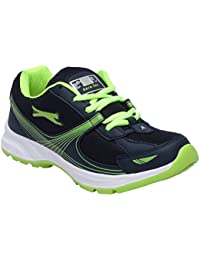 CF_Better Deals Mens Synthetic Mesh Navy Green Coloured Sports Shoe| Running Shoes| Pro Running Shoes| Sprint... - B076CP32X3