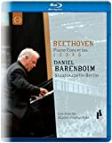Beethoven Piano Concertos 1, 2, 3, 4, 5 - Daniel Barenboim [Blu-Ray]