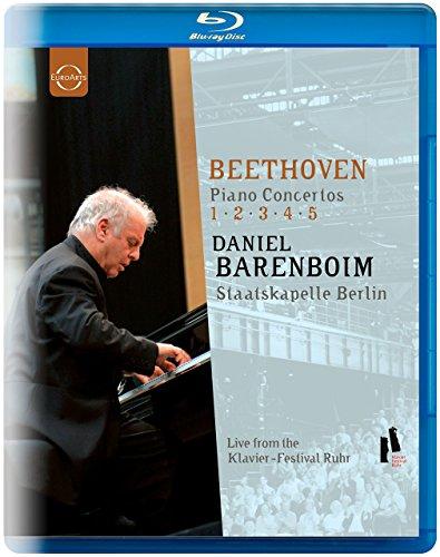 Concertos Pour Piano, Integrale [Blu-ray] [Import italien]