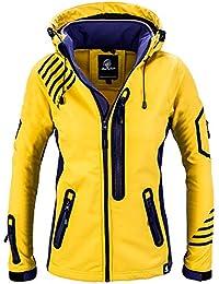 Soft Shell Jacke Damen 3 Farben Gr.XS-2XL Wasserdicht 8000mm Sport Camping Laufe
