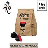 96 Capsules de café compatibles avec toute machine Nescafé Dolce Gusto – Nescafé 96 x Dosettes / Capsules de Café Dolce Gusto Café MyRed – MyRistretto