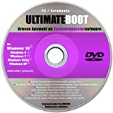 Ultimate Boot CD-DVD (NEU)/Notfall-CD-DVD für Windows 10 Windows 7, Windows 8, Vista, XP Betriebssysteme System-Diagnose Tools