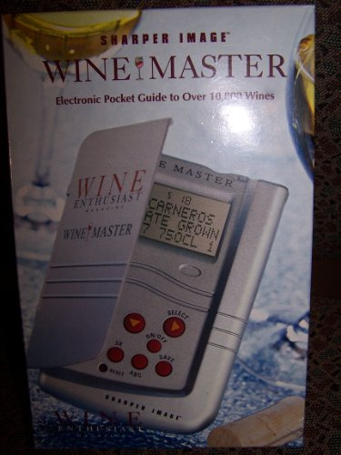 sharper-image-wine-master-electronic-pocket-guide-to-over-10800-wines