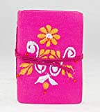 Notizbuch Adressbuch Mini pink für Mädchen 0078