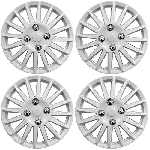 Ford Ka Car Wheel Trims Hub Caps Plastic Covers Lighting  White Buy Online In Oman Automotive Products In Oman See Prices Reviews And Free