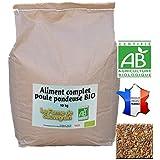Alimento completo gallina ponedora Bio–10kg