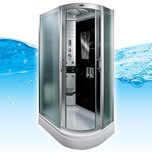 AcquaVapore DTP8060-7312R Dusche Dampfdusche Duschtempel Duschkabine 80x120, EasyClean Versiegelung der Scheiben:Nein! +0.-EUR