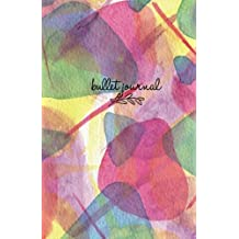 "Bullet Journal: Colorful Design Cover 5,5""x 8,5"": Dot Grid Journal, Design Book, Planner, Dotted Notebook, Work Book, Sketch Book, Math Book, 5mm Dots ... pages (Dot paper): Volume 6 (Bullet Journals)"