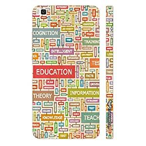 Huawei P8 Back To School designer mobile hard shell case by Enthopia