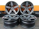 4 Alufelgen DEZENT TB 17 Zoll passend für BMW 2er 1er 3er E90 4er 5er F10 6er F12 7er F01 X1 ZX3 NEU