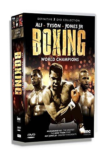 The Definitive Boxing World Champions 3 DVD Box Set - Muhammad Ali, Mike Tyson & Roy Jones Junior...