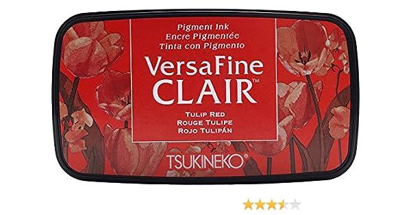 in materiale sintetico Tsukineko Chianti Versafine Clair tampone di inchiostro rosa 5.6/x 9.7/x 2.3/cm