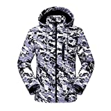 Descriptions:Water resistant jackets are suitable for outdoor sports, like cycling, hiking, mountaineering, climbing, fishing, skiing, camping and adventure.The high-tech functional fabrics, waterproof, windproof and air permeable.Wat...