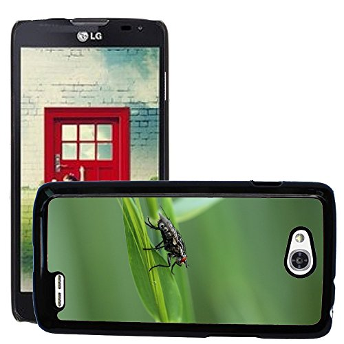 Nur Handy HOT STYLE HANDY PC Hard Case Cover//m00139354Fly Meadow Close Spring/Insekten/LG Optimus L90D415 (Lg Optimus L90 Hard Phone Case)