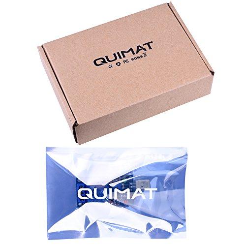 Quimat 5V 1-Channel 1CH Transducteur /Capteur d'humidité,Humidity Sensor Module de Relais Commutateur Tableau de Contrôle