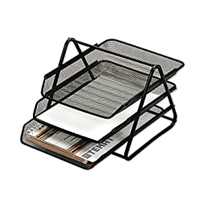 Chrome 9683 - Mesh Document Tray 3 Tier