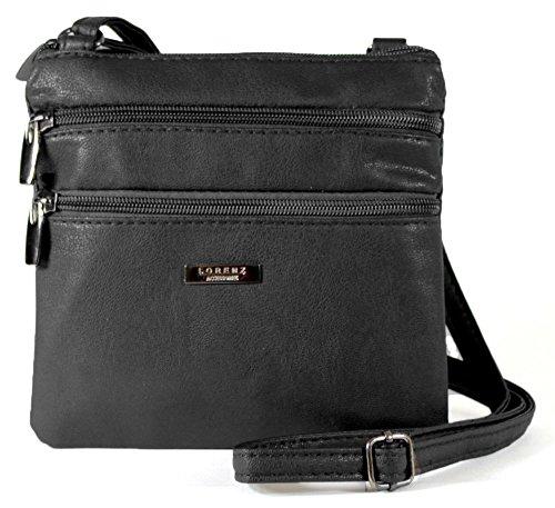 new-womans-leather-style-cross-across-body-shoulder-messenger-bag-zipped-black