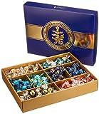 Lindt Lindor Roulette International Box, Schokoladengeschenk Box gefüllt mit Lindor und Roulette Kugeln in 8 köstlichen Geschmacksrichtungen, ideal als Pralinen Geschenk, 1er Pack (1 x 1,473 kg)