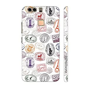 Enthopia Designer Hardshell Case Monument Stamp 2 Back Cover for Huawei P9 Plus