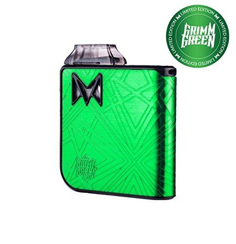 Auténtico MI-POD KIT DE ARRANQUE ULTRA PORTÁTIL - Mi-Pod Cigarrillo Electrónico Para Principiantes - 2 ml Capacidad E-Liquid Libre de Nicotina Sin Tabaco - Con Bolsa Unishow Gratis (Grim Green)