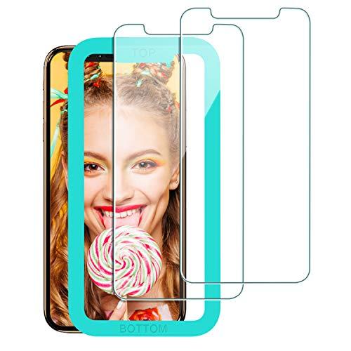 Babacom für iPhone 11 Pro Panzerglas Schutzfolie, [3D Touch] [Ultra Transparent] [9H Härte] [Anti-Kratzen] Displayschutzfolie mit Ausrichtungsrahmen 5,8-Zoll, 2019 (2 Stücke)