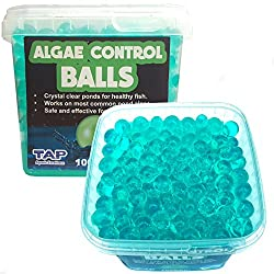 Pond Algae Control Balls - Crystal Clear Healthy Pond Water (500ml (Treats 2250l))