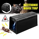 LEIPING Electronic Mouse Trap,High Voltage Emitting,Effective and Powerful killer for rats,squirrels Mice rodents