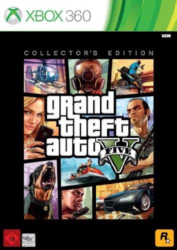 Grand Theft Auto V - Collector's - 5 Xbox Theft Auto Grand